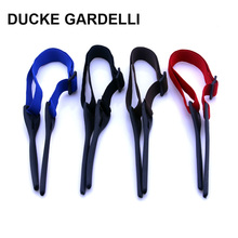 DUCKE GARDELLI Polyester Adjustable Elastic Cord Sun Glasses Sunglasses Band Strap chain string holder 4 color k19(China)