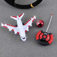 Buy Plastic RC Electric Model Airplane Flashing Music Toy Kid Gifts Electric Airplane Children Kids Toys Gifts for $15.20 in AliExpress store