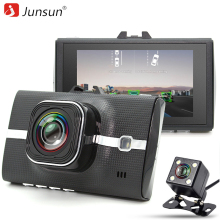 Junsun Car DVR Camera LDWS ADAS Registrar Dual Lens Support  Night Vision Video Recording Full HD 1080P car dvrs dashcam