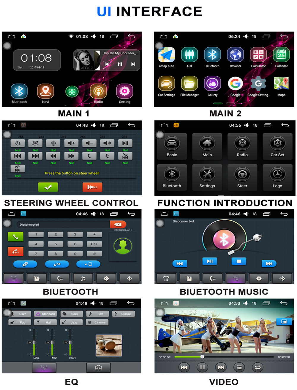 Android 6.0 CAR Audio DVD player FOR HYUNDAI ix25CRETA gps Multimedia head device unit receiver BT WIFI