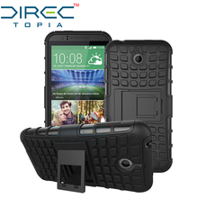 DIRECTopia Dual Layer Hybrid Defender Kickstand Armor Protective Cover Phone Case for HTC Desire 510 Case with Kickstand
