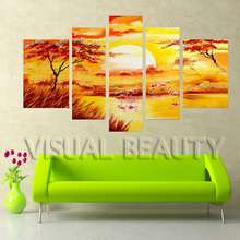 Hot Design Painting for Home Decor, Canvas Painting with Antique Style(Unframed)(China)