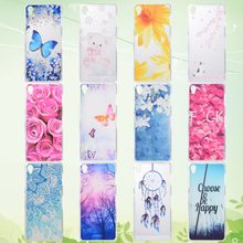 For Sony Z5 E6683 5.2'' mobile phone dust cover soft shell silicone sets fashion simple fine hand painting male and female model