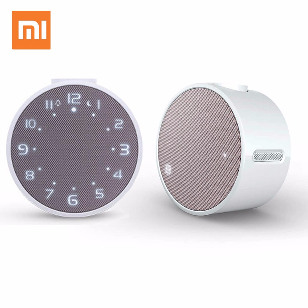 Original Xiaomi music Alarm clock Wireless Bluetooth Portable Speaker LED Digital Clock Wake -Android Control