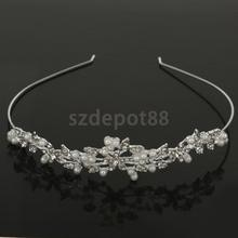Elegant Rhinestone Wedding Bride Headband LADY Prom Hair Accessories Tiara