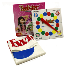 Twister - the game that ties you up in knots - Hannah Montana Body Twisters Plus 135*165cm Big Board Games