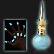Candy Colors Luminous Nail Polish 14ml Non-toxic Matte Fluorescent Nail Art Decor(China)