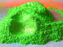 Green Mica powder pearl pigment used for cosmetic &beauty &skin,high luster free shipping