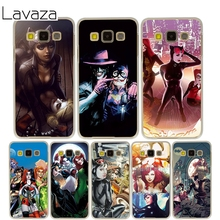 Lavaza Poison Ivy Harley Quinn Cover Case for Samsung Galaxy A3 A5 J5 2015/2016/2017 Cases for J3 J5 Grand Prime J7(China)