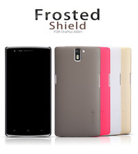 Original New Nilkin Super Frosted Shield Hard PC Back Hard Cover Case for Oneplus One Cell Phone Case with Retail Package
