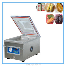 Free shipping food vacuum sealer, vacuum packing machine vacuum chamber, aluminum bags food rice tea vacuum sealing machine CE