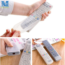 Silicone TV Remote Control Cover Air Condition Control Case Waterproof Dust Protective Storage Bag Organizer(China)