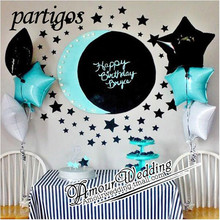 6pcs 45*45cm Star Shape pear Balloons love helium foil balloon love Wedding Birthday Party Decoration supplie globos baby shower(China)