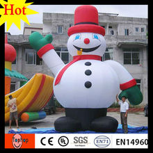 high 6m 19.6ft  outdoor christmas inflatable snowman with boots halloween decorations gift 420D Oxford