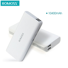 ROMOSS Sense 4 10400mAh For Xiaomi mi4 Portable Charger External Battery Pack Power Bank Fast Charging For iPhone Samsung(China)