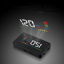 Car Styling Electronics Accessories Universal HUD Head Up Display Speed Display High-definition Digital Projection Easy Install(China)