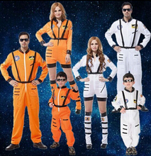 2016 Halloween cosplay costumes adult astronaut clothing woman pilot clothes Police uniform house party Parent child clothing