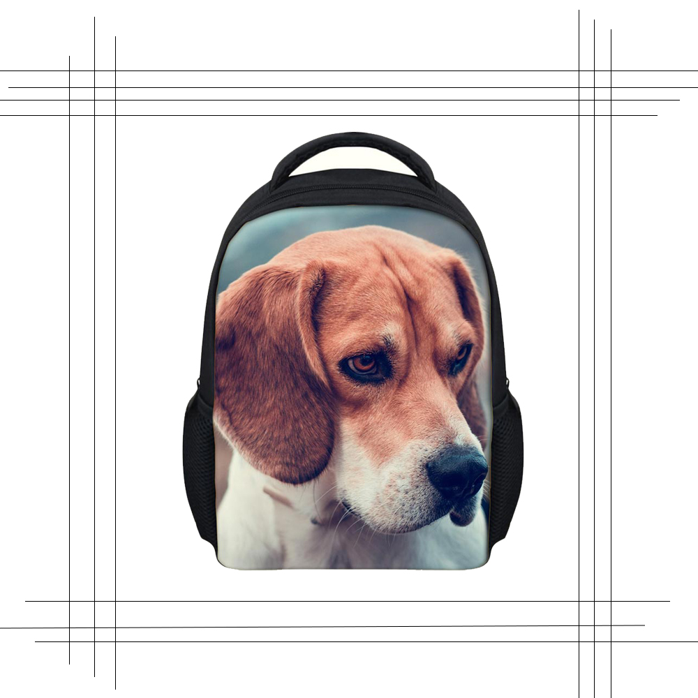 Dachshund Puppies in Sweaters Black School Backpack /& Pencil Bag Set