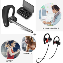 Buy Sport Headset bluetooth Workout Earphones +Car Driver Bluetooth Headphones Compatible iPhone Bluetooth Headset free shiping for $52.99 in AliExpress store