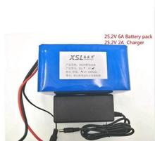 New 24V 6Ah 6S3P 18650 Battery li-ion battery 25.2v 6000mah electric bicycle moped /electric/lithium ion battery pack+2A Charger