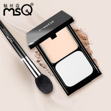 2 color/set Professional Natural Wet Dry Dual-use Smooth Skin Face Finishing Loose Powder top Foundation Long Lasting Makeup kit(China)