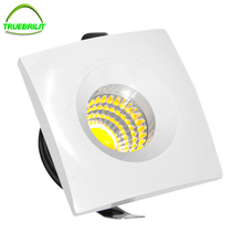 LED Mini Spot COB Recessed Dimmable Downlights 110V 220V Down Lamp for Cabinet Home Lights for showcase Display(China)
