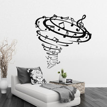 Group Of Music Notes Wall Stickers Unique Desiged Home Musical Style Fashion Decor Vinyl Wall Murals Decal Music Notes Wm-228(China)