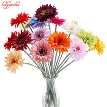 5/10/20PCS Artificial Flower Silk Gerbera for Wedding Decoration DIY Sunflower Artificial Flowers Bouquet for Wedding Home Decor