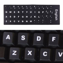 Keyboard Film Cover Independent Paste English Keyboard Stickers for Laptop Notebook Computer Keyboard