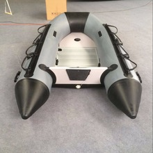 Goethe 270cm long Inflatable Fishing boats with aluminum floor(China)