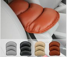 Car Armrests Cover Pad Vehicle Center Console Arm Rest Seat Pad For Ford Focus 2 3 Peugeot 206 207 307 308 407 Auto Accessories