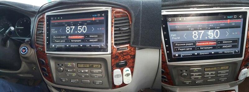 android8 LAND CRUISER 100 PRADO LAND 100 CRUISER 100 LC100 CAR DVD TOYOTA LAND CRUISER