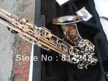 Selmer B Saxophone Tenor Henry Reference 54 Tenor Saxophone Surface Back Nickel Plating  Carve Patterns Sax Instrument