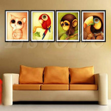 5D Cute Animal dimond Painting DIY Cross Stitch Mosaic Pictures  Decor