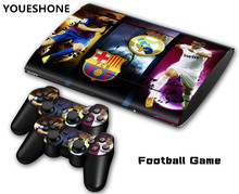 Football For Ps3 skin Slim Game Decal Skin Stickers For Playstation Console 2Pcs Stickers For PS3 Controller M04