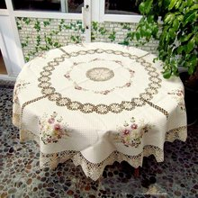 "Free shipping!   Handmade Corcheted  Tablecloth  70x70""(175CM ROUND) ,Drop Shipping"