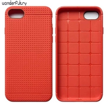Wonderfultry Case Capa For iPhone7 Dream Mesh TPU Soft Cover For Apple iPhone 7 Cell Phone Bags High Quality Luxury Shell 033