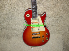 New Arrival Cherry Burst ACE Electric Guitar 3 pickups guitars wholesale OEM Cheap