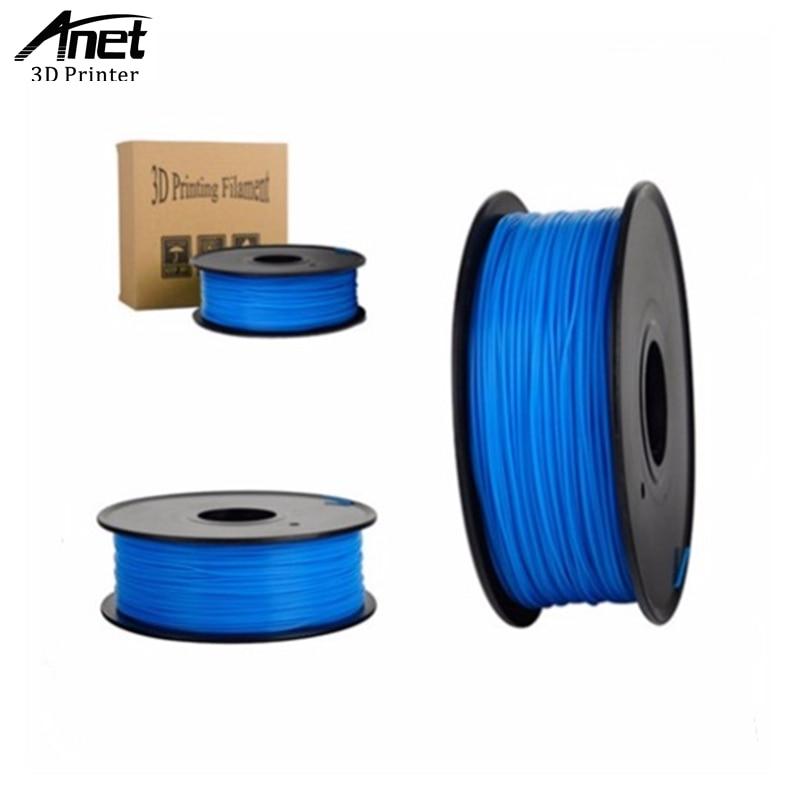 ANET 350 meters 3D Printer Filament ABS filament samples 1kg/bag 1.75mm for 3d printer machine /3d pen color optional<br><br>Aliexpress
