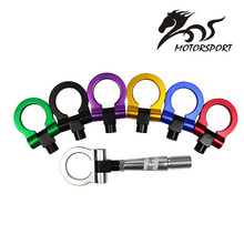 Tow Hook Front Rear For Mitsubishi Lancer EX Towing Bars (red/blue/gold/white/purple/black)(China)