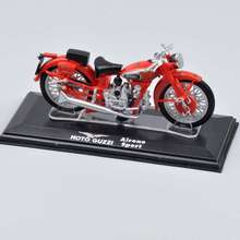 2016 Fashionable Red Color 1/22 Scale Moto Guzzi Airone Sport Motorcycle Italeri Diecast Model Toy Collection For Gifts A