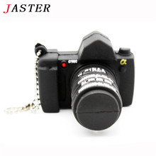 JASTER LOGO Wholesale Digital Single Lens Reflex usb flash drive camera pendrive 8gb 16gb silicone pendrive memory stick Gigt