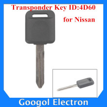 For Nissan Transponder Key ID:4D60 ID4D60 5pcs/lot Free Shipping