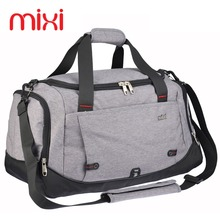 Mixi 2017 Large Capacity 39L Men Women Gym Bag Sports Bag Black Blue Gray Outdoor Fitness Training Bag