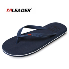 2017 ALEADER Summer Mens Sandals Casual Beach Slippers For Men Shoes Fashion Flatform Sandals Eagle Flip Flops Sapatos masculino
