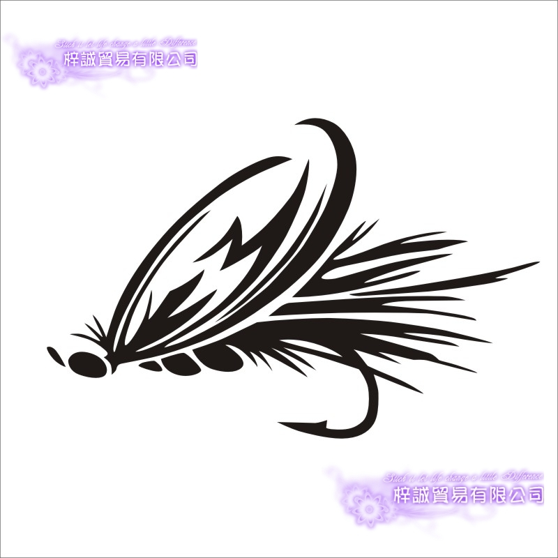 Fishing Sticker Car Catfish Fish Decal Angling Hooks Tackle Shop Posters Vinyl Wall Decals Hunter Parede Decor Mural Sticker