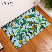 Smiry in front of floor decorative stair mats cool summer pineapple tree carpets soft flannel living room dust proof carpets
