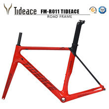 Buy 2018 Tideace carbon fiber bicycle frame Di2&Mechanical racing bike carbon road frame+fork+seatpost+headset carbon road bike for $406.50 in AliExpress store
