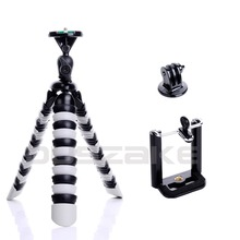 "Mini Flexible Octopus Mobile Tripod 2-in-1 Gorillapod 11"" for iPhone GoPro Canon Nikon Sony Camera Table Desk Tripod Stand 41"
