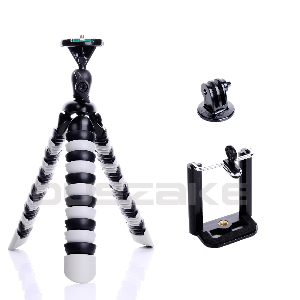 "Mini Flexible Octopus Mobile Tripod 2-in-1 Gorillapod 11"" for iPhone GoPro Canon Nikon Sony Camera Table Desk Tripod Stand 41(China (Mainland))"